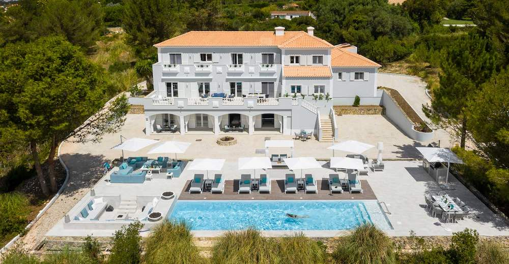 Fabulous villa with pool near the Sintra palaces