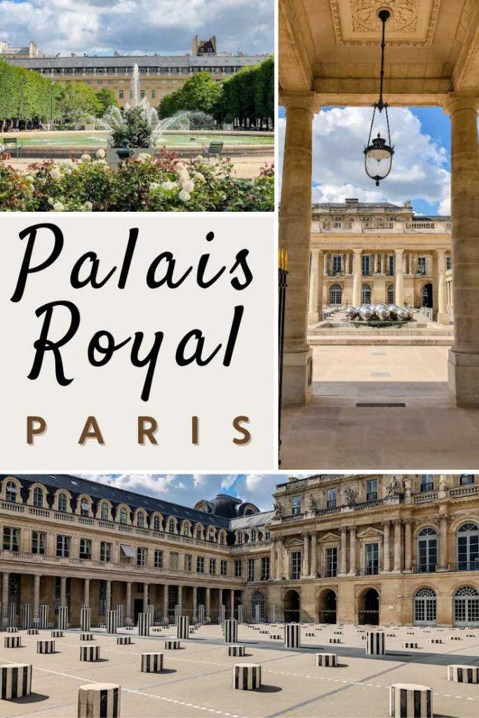 Courtyard and Van Buren columns in the Palais Royal