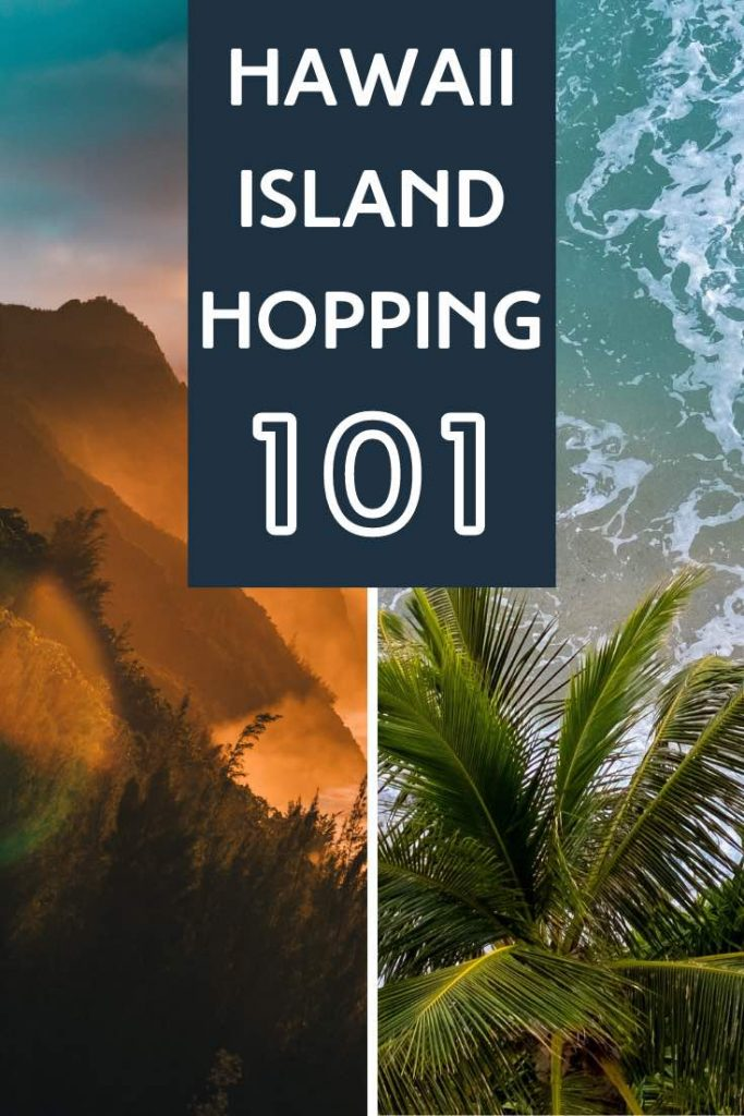 Enjoy the Maui ocean and Kauai mountains during your Hawaii island-hopping trip