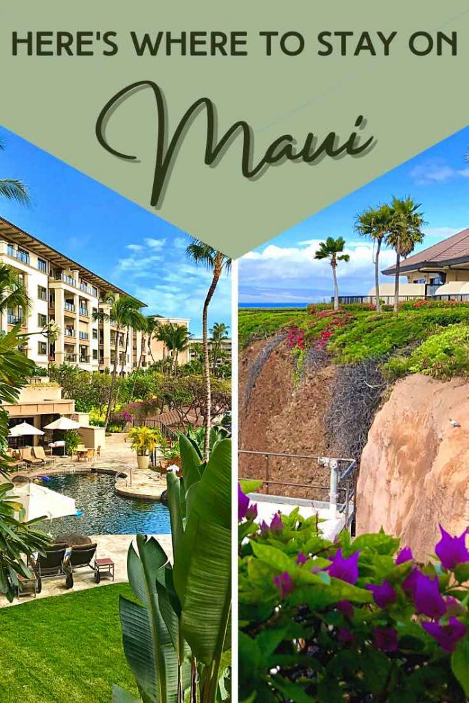 Guide to Maui resorts and condos per area