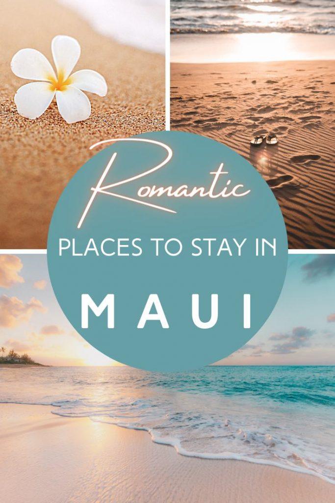 Beach, ocean and plumeria in Maui