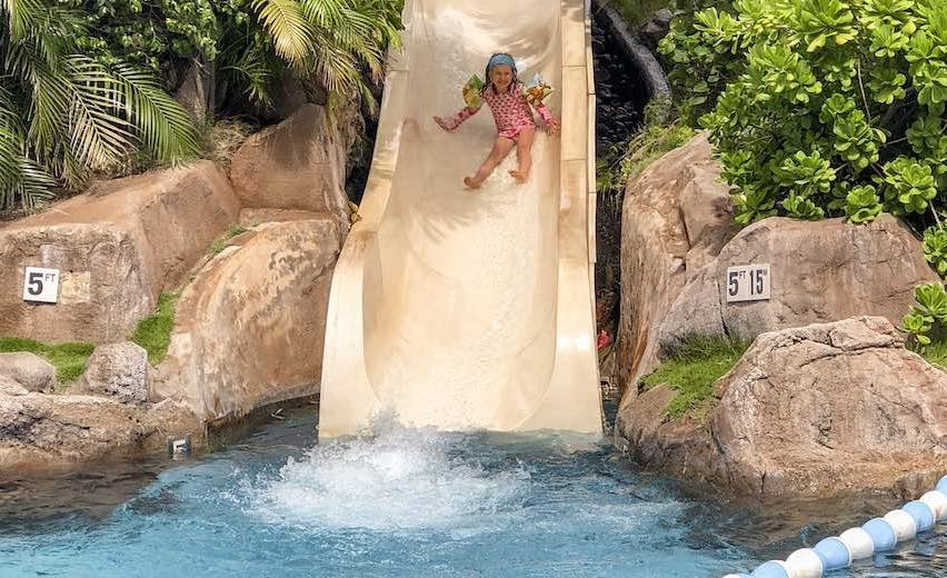 When you plan a trip to Maui with kids then consider the Westin with its pool complex with slides