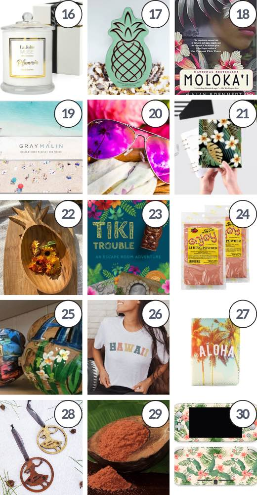 This list of Hawaiian gifts ideas features some of the best Hawaii gifts to send to mainland