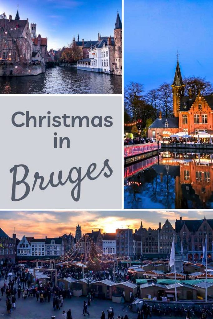 Rozenhoedkaai, Minnewater and Markt are some of the best Bruges Christmas market locations