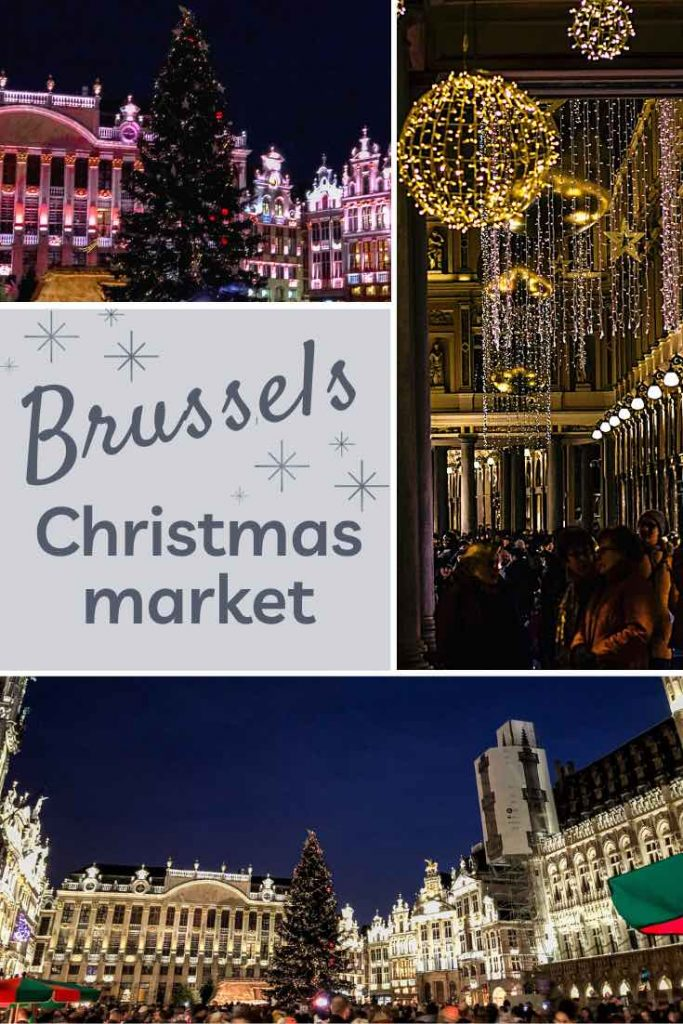 Christmas in Brussels at the illuminated Grand Place and festively decorated Royal Galleries