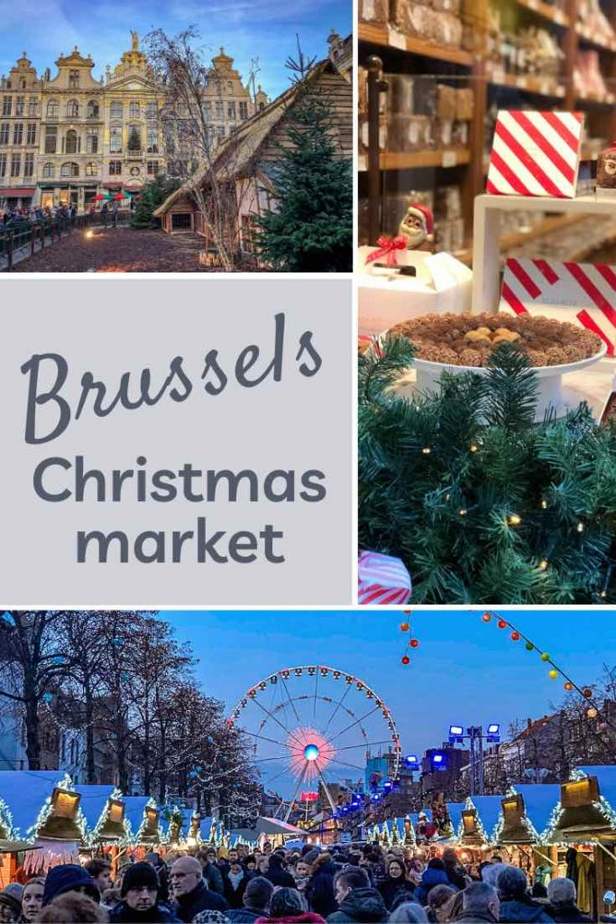 Nativity scene at the Grand Place, Belgian chocolate and the ferris wheel at Vismet during the Brussels Christmas market