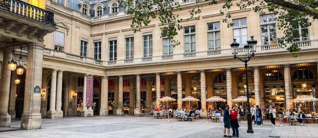 Convivial Place Colette in Paris