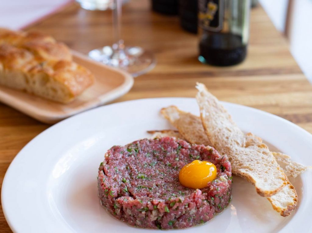 Steak tartare is one of the Paris foods you should try