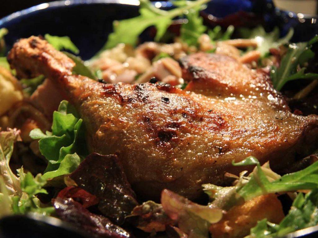 A confit de canard is a must-try food in Paris