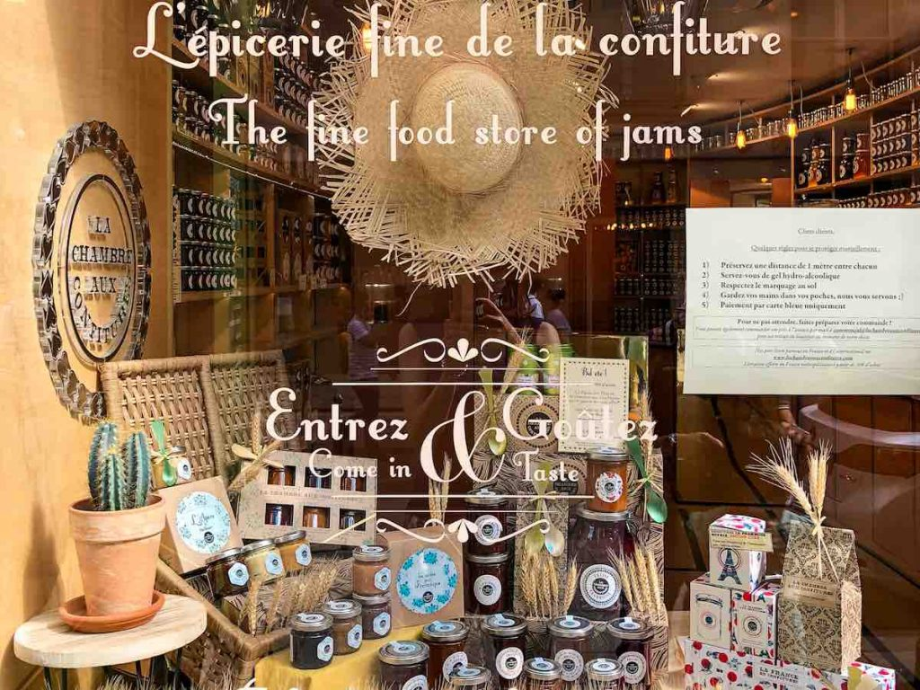 Jams and preserves are another classic Paris food
