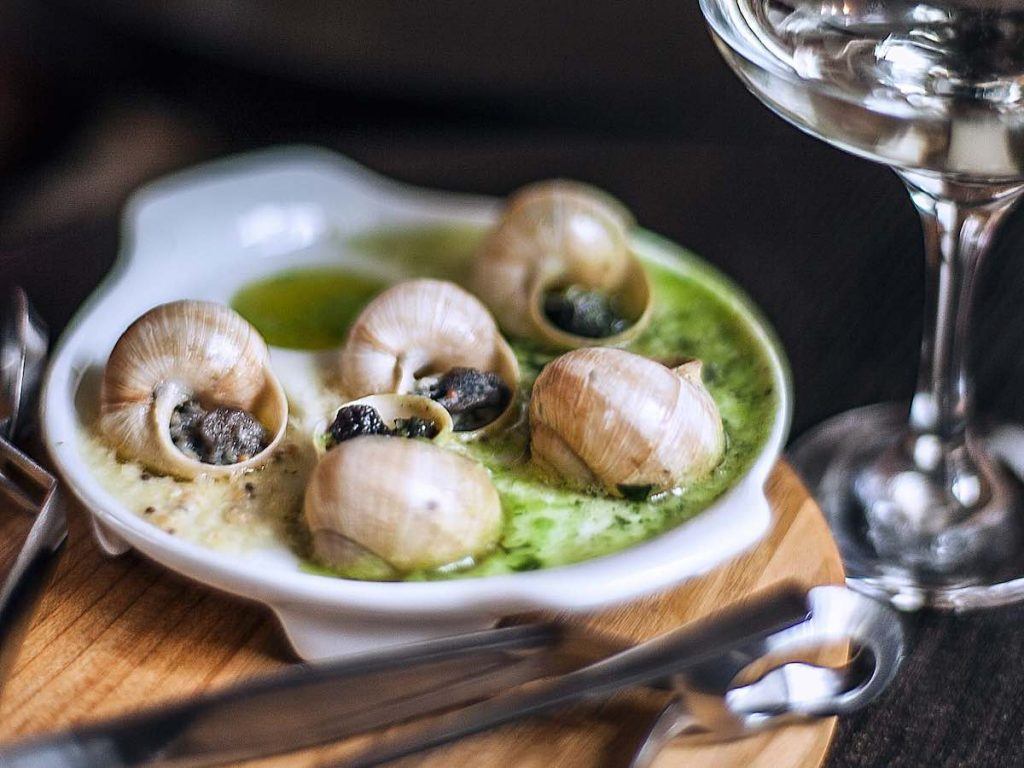 L'Escargot Montorgueil is the number one restaurant to try this French food in Paris