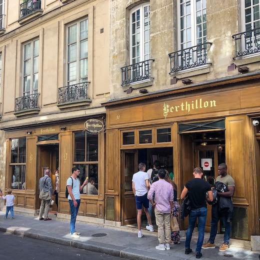 Berthillon is the most famous ice cream manufacturer in Paris