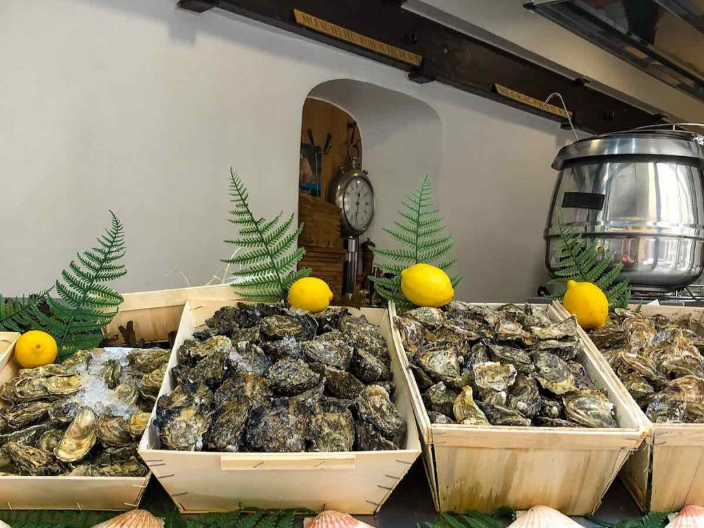 Oysters are a famous food from France
