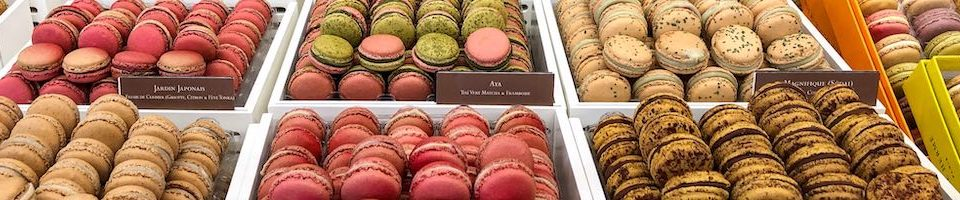 Macarons are our favorite food in Paris