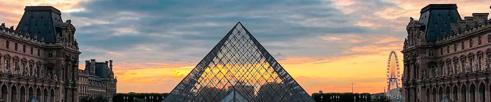 Visiting the Louvre after hours is one of the best things to do in Paris at night